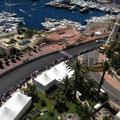 Monte Carlo Monaco Balkon Blick
