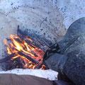 Innenschuhe trocknen und Füsse wärmen