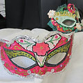 bal du 2 mars 2014: masques de carnaval
