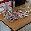 bal carnaval du 1er mars 2015: masques et bracelets téléthon