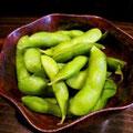 疲労こんぱいゆえ、冷凍枝豆自然解凍。