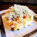 この揚げ出し豆腐、ホント美味しいよ。ポン酢とカツオと昆布はベリーナイスマッチ!