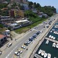 Lavori di restyling di una struttura turistico ricettiva sul porto di Agropoli