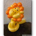 Ein Luftballonlöwe