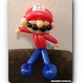 Mario aus Luftballons