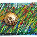 fronte cassetto in legno acrilico cm59X10
