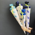 Raketen Schultüten diverse Farben