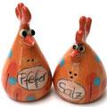 Salz/ Pfeffer Hühnchenpaar Artikel-Nr. 2132 / 24 €