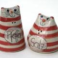 Salzstreuer Katzenpaar Artikel - Nr. 2328/ 22,- €