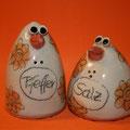 Salz/ Pfeffer Vogelpaar Artikel - Nr. 2149 / 19,- €