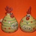 Salz/ Pfeffer Hühnchenpaar Artikel-Nr. 2124/ 24 €