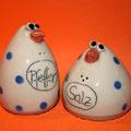 Salz/ Pfeffer Vogelpaar Artikel - Nr. 2002 / 19,- €
