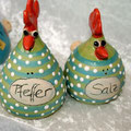 Salz/ Pfeffer Hühnchenpaar Artikel-Nr. 2131/ 24 €
