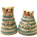 Salzstreuer Katzenpaar Artikel - Nr.2324 /  24,- €