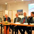Buchtaufe Jubelzone, Sept. 2010 im Slowakischen Institut in Berlin, Podium