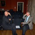Lesung im Rektorat der TU Dresden, 19.10.2012 (v.l.n.r. Jozef Banás, Peter Pragal)