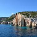 Die Blauen Grotten am Kap Skinari