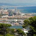 Blick vom Montjuic