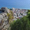 Blick von der Festung nach Zakynthos Stadt