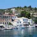 Gaios, das Hafendörfchen von Paxos