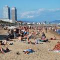 Stadtstrand von La Barceloneta