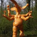de la serie ganesh ganesh qui jongle resine ht 450 cm
