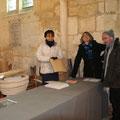 un enthousiasme à l'épreuvre du froid pour Isabelle Stumpf, Anne Lorin et Jean-Michel Ripaud