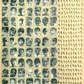 de la série Kapaspujari les garçons photos mêches de lampes à huile 73X116 cm
