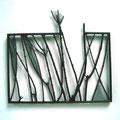 série dépasser un cadre (40x35 cm) bas relief