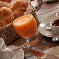 Petit déjeuner - Breakfast Photo: Véronique Hadengue