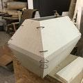 3D Schweißschablone konstruiert
