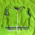 apfelgrün - zigzag grün