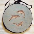 Delfine mit Süßwasserperlen