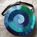 Blaue Spirale