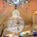 光のヒンメリ2014年(阪急百貨店うめだ本店の祝祭広場)