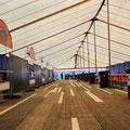 17,5mx60m Binnenzijde lichtdoorlatend dak