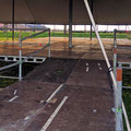 Podium 20mx10m incl. ramp