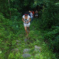 walking on the Tayrona path @ Reserva Biologica Caoba