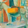Le petit âne espagnol - 1959 - Hst - 97/130 - ©Adagp Paris 2014