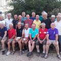 En attendant que quelqu'un nous passe une photo de ces dames, voici les hommes, les vrais ...  (Photo CLR)
