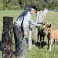 Michel et ses copains-copines. On a senti ... une réelle affection entre eux.  (CLR)