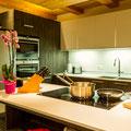 Cuisine  Chez Emilie Chalet 18 Personnes Linga