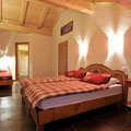 Chambre appartement les Marmottes Chatel centre
