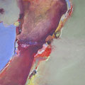 Ohne Titel - Acryl auf Leinwand - 40x50