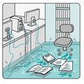 水漏れ事故