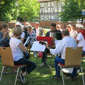 Der Laatzener Musikkreis unter der Leitung von Dietmar Lex