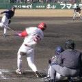 平成15年3月2日 オープン戦 対オリックス(旧・広島市民) 7回裏無死1塁よりレフトスタンドへ逆転2点ホームラン