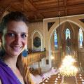 hochzeitliches Lichtermeer in der Kirche
