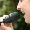 Gesang bei freier Trauung