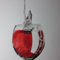 Katja Mohr Glas rot